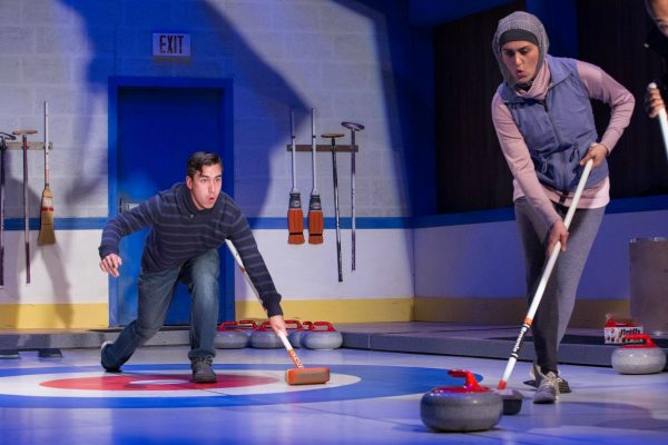 Richard Lam and Parmida Vand. Photo:  Randy deKleine-Stimpson. The New Canadian Curling Club - Thousand Islands Playhouse 2019