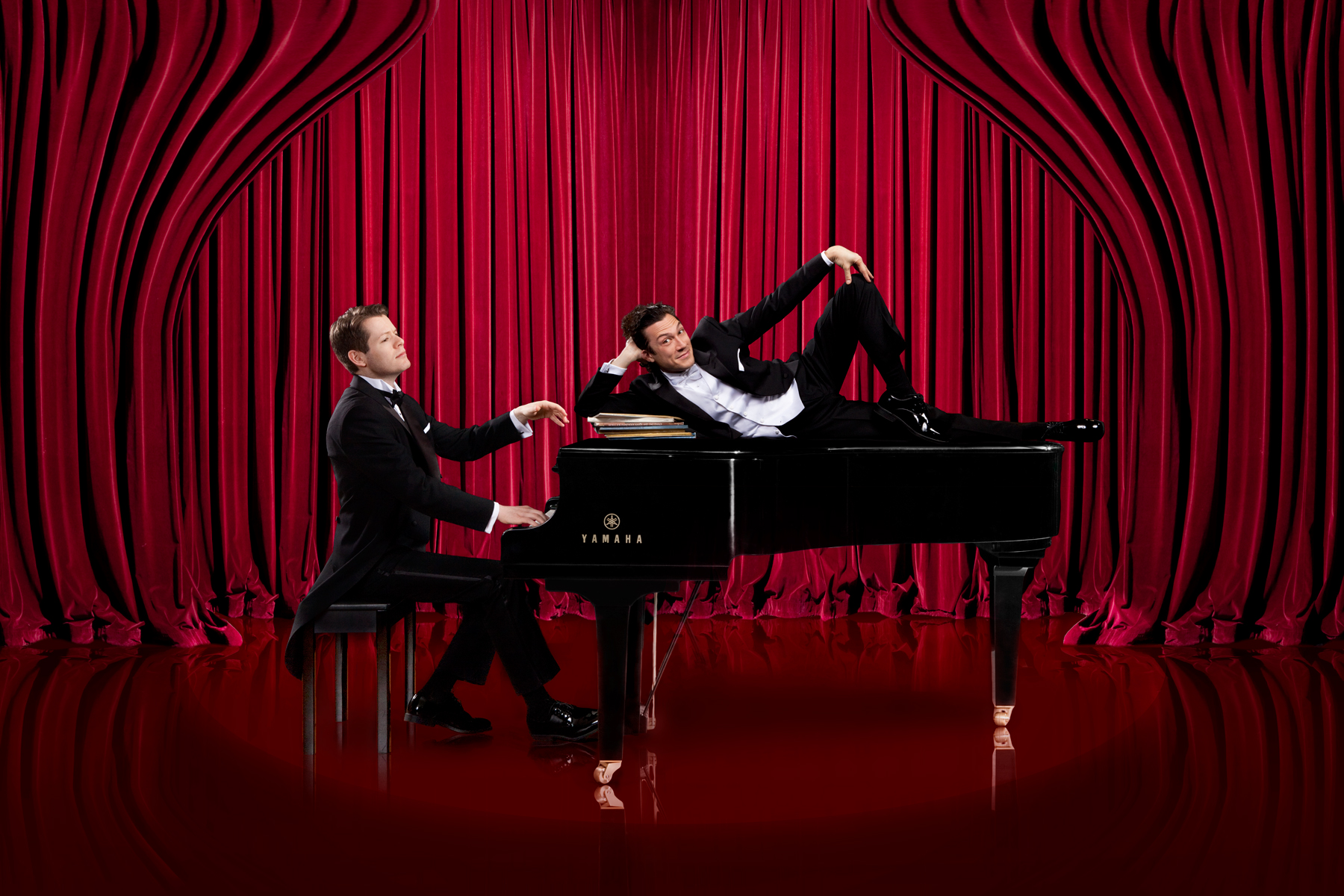PAST EVENT: 2 Pianos 4 Hands – Thousand Islands Playhouse, Springer Theatre, May 24 – June 16, 2018
