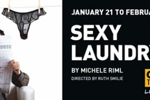 Sexy Laundry - Globe Theatre Poster