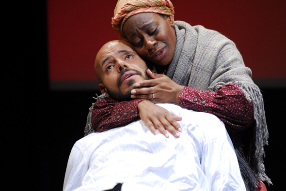 Factory Theatre -Photo Maurice Dean Wint and Ordena Stephens-Thompson. By Ed Gass-Donnelly.