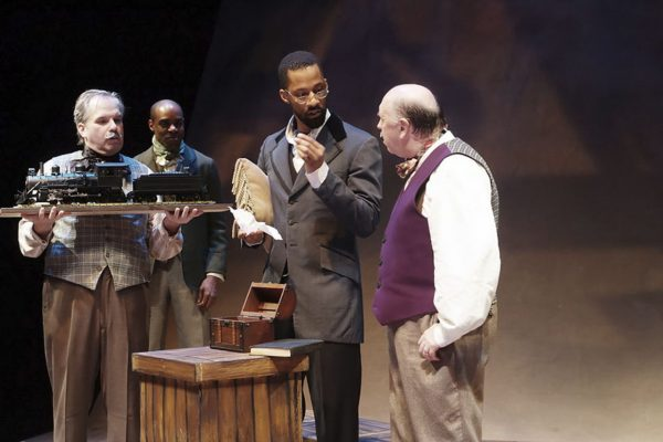 STEWART GOLDSTEIN - The Black Rep rewrites history in The Real McCoy.