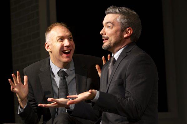 Mark Crawford & Paul Dunn, Blyth Theatre Festival. Photos: Terry Manzo