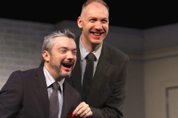 Paul Dunn & Mark Crawford, Blyth Theatre Festival. Photos: Terry Manzo