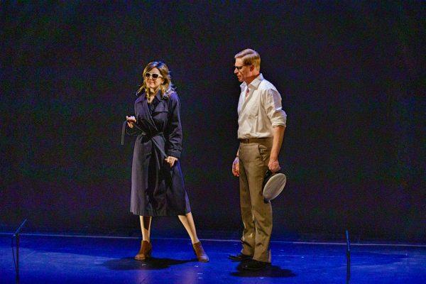Amanda Lisman & Geoffrey Pounsett.  Photo: Barbara Zimonick