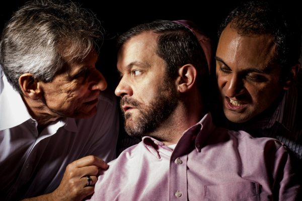 Jerry Wasserman, James Gill and Mehdi Darvish Credit Doug Williams