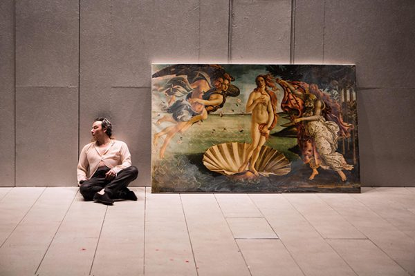 Salvatore Antonio in the Canadian Stage Production of 'Botticelli in the Fire'. Photo by Cylla von Tiedemann