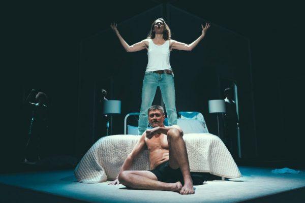 Diane Flacks & Geordie Johnson. Photo: Jeremy Mimnagh