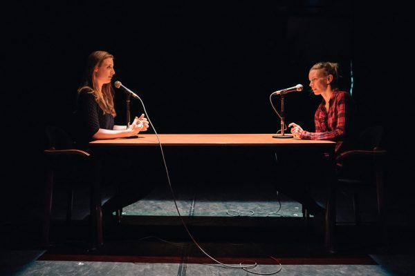 Ellie Moon & Christine Horne. Photo: Jeremy Mimnagh